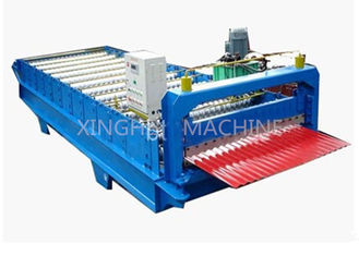 ประเทศจีน Colored Steel Roof Tile Roll Forming Machine , Cold Roll Forming Machines ผู้ผลิต