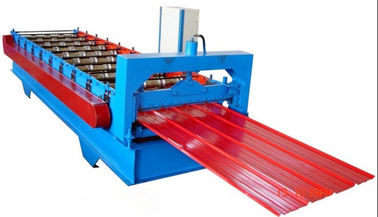 ประเทศจีน High Speed Wall Panel Roll Forming Machine For Making Construction Materials ผู้ผลิต