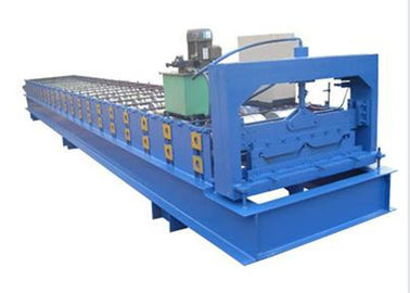 ประเทศจีน Full Automatic Roll Forming Machines Making PPGI Tiles For House Building ผู้ผลิต