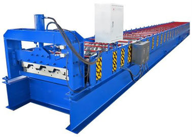 ประเทศจีน 380V Galvanized Steel Floor Deck Roll Forming Machine With 23 Rows Rollers ผู้ผลิต