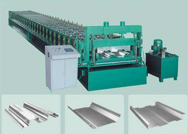 ประเทศจีน Hydraulic Glazed Tile Roll Forming Machine For Making Color Steel Floor Deck ผู้ผลิต