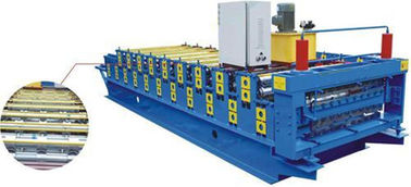 ประเทศจีน Electric Control Double Layer Roll Forming Machine , Cnc Roll Forming Machine ผู้ผลิต