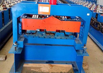 ประเทศจีน 18.5KW Corrugated Floor Deck Roll Forming Machine Easy To Installation ผู้ผลิต