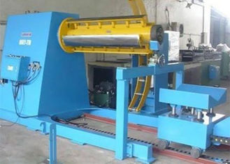 ประเทศจีน 380V 60HZ Roll Forming Production Line Automatic Decoiler With Hydraulic System ผู้ผลิต