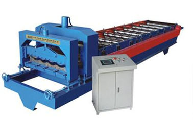 ประเทศจีน Glazed Tile Roof Panel Cold Roll Forming Machines / Roofing Sheet Roll Forming Machine ผู้ผลิต