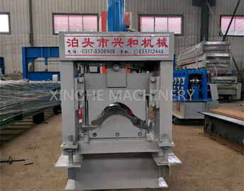 ประเทศจีน Automatic Roof Ridge Cap Tile Cold Roll Forming Machine / Glazed Aluminum Metal Rib Tile Forming Machine ผู้ผลิต