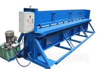 ประเทศจีน Motor Control Roll Forming Production Line , 3 KW Hydraulic Metal Cutter โรงงาน