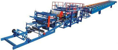 High Speed Glazed Tile Roll Forming Machine For 1000mm Width Steel Coil