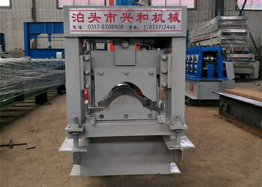 Automatic Ridge Cap Roll Forming Machine , Steel Stud Roll Forming Machine