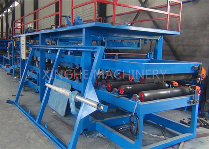 Computer Control Sandwich Panel Roll Forming Machine With Sheet Shearing Machine