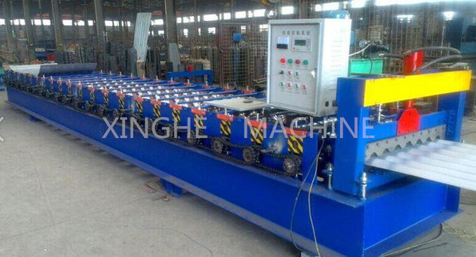 Industrial Automatic Cold Roll Forming Machines For Roof / Wall Panels Making