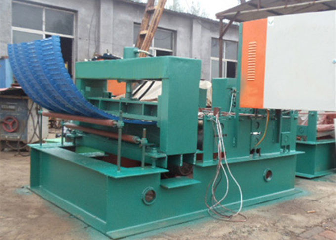 380V 60HZ Electric Iron Sheet Bending Machine With 1m / 1.2m Slit Width